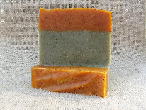 tangerine & eucalyptus