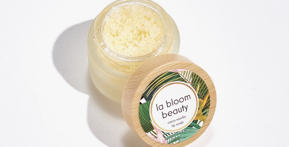 Coco-Vanilla Lip Scrub