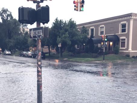 Flooding Denver Streets!! Setting your Finished Floor Elevation.