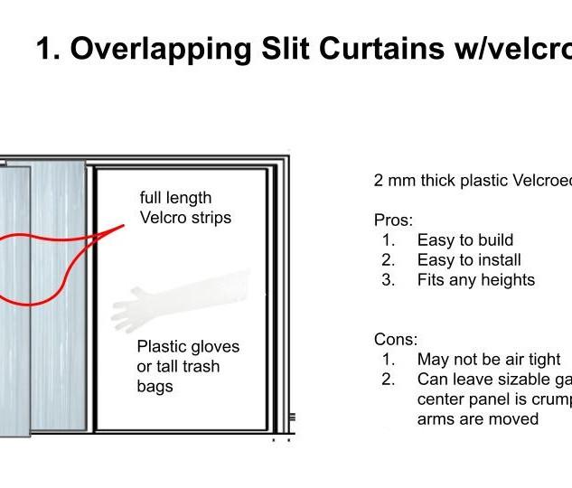 Detachable hugging wall for doorways & sliding glass doors