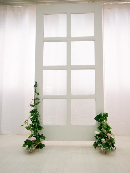 ホワイト窓枠