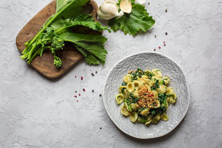 """Italian first course - pasta """"Orecchiett"""