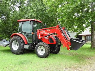 GUY GARRISON ESTATE AUCTION: 7 Tracts totaling over 565 acres, trucks, tractors, equipment