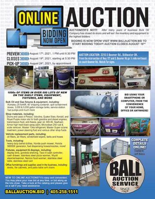 BUSINESS LIQUIDATION Auction: BURK OIL, STILLWATER, OK