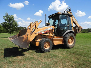 ABSOLUTE AUCTION: Equipment, Tools, Backhoe, Saw Mill, More!