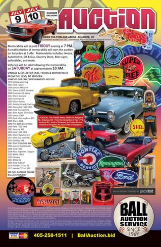 OK Classics Auction: Collector Cars and Memorabilia - LIVE & ONLINE BIDDING