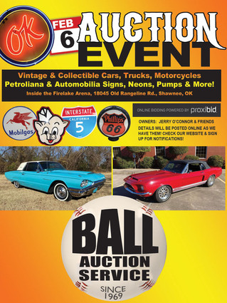 OK Classics Auction: Collector Cars and Memorabilia - LIVE & ONLINE BIDDING