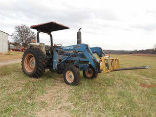 ABSOLUTE AUCTION: Tractors, Equipment, Livestock Supplies