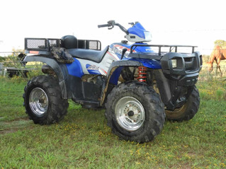 ABSOLUTE AUCTION: ATVs, Camper, Tools, Guns, Ammo, More!