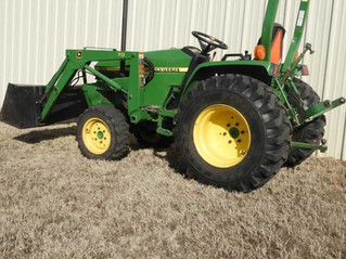 ABSOLUTE AUCTION: Tractor, Tools, Lawn & Garden Items, Antiques, Household