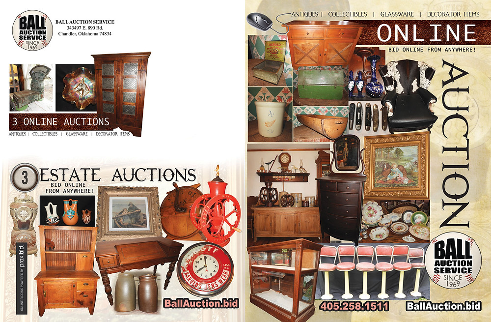 Antique Auction Online Only For Shirley Hayden Estate