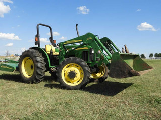 ABSOLUTE AUCTION: Tractor, Ag Equip, Tools, Riding Mower, Barber Chair, More!