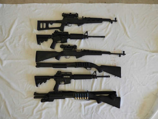 ABSOLUTE AUCTION: Guns, Harley, Tools, Tractor, Trailer, MORE