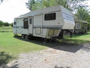 ESTATE AUCTION: Travel Trailer, Fishing Boat, Tractors, Livestock Items