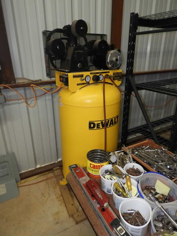 ABSOLUTE AUCTION: Tractor, Tools, Lawn & Garden Items