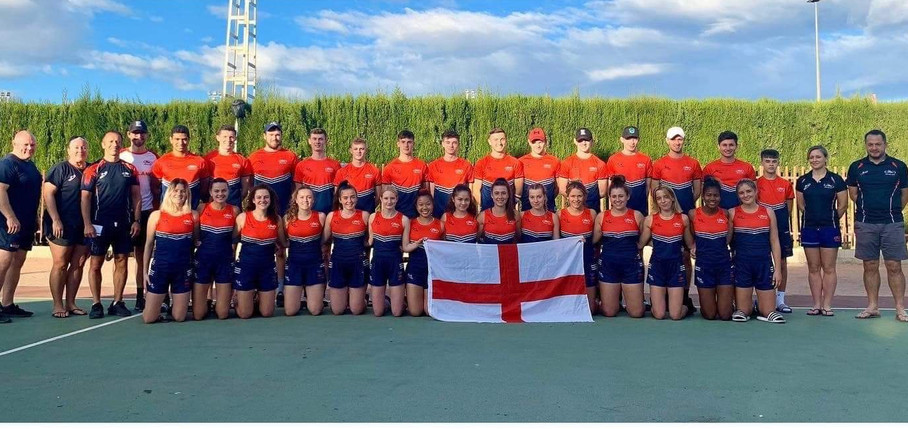 England Touch at the Euro Touch Trophy in Elche Oct 2019