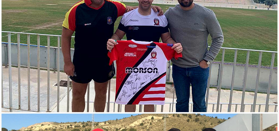 Spain Rugby Tours Event Team and Guests