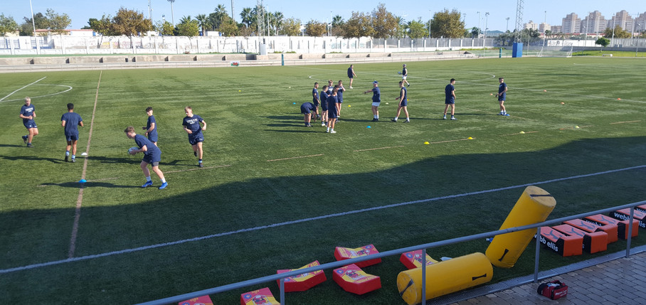 Cardiff Blues U16s Academy October 2019 Torrevieja