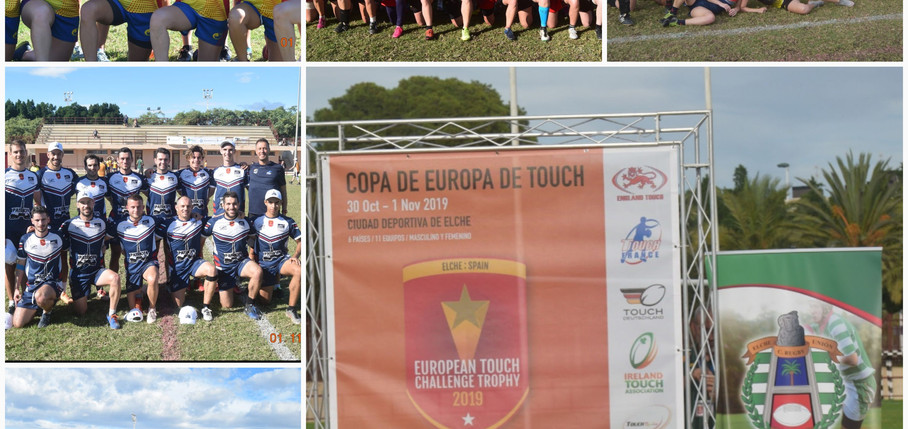 Euro Touch Championship Trophy Oct 2019 Elche