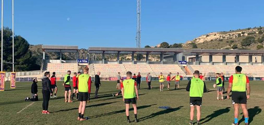 Salford Red Devils Rugby League Training Camp La Vila Rugby 2020