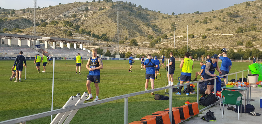 Leeds Rhinos Pre Season La Vila Joisoa Rugby Club