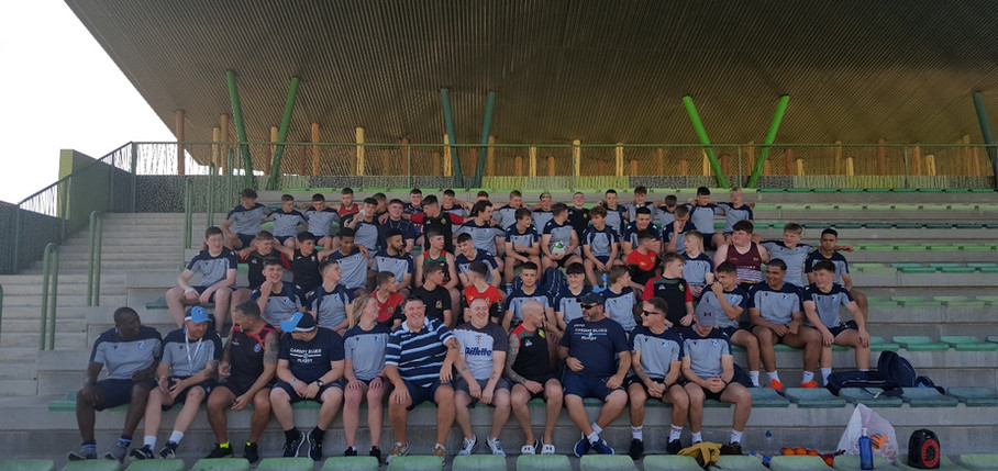 Cardiff Blues Academy U16s Spain Rugby Tour Torrevieja