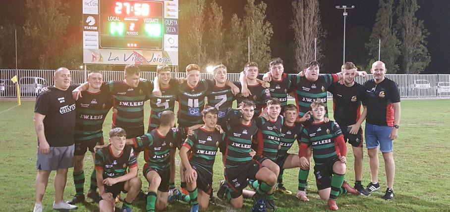 Waterhead Warriors U16s Rugby Tour Spain La Vila Rugby