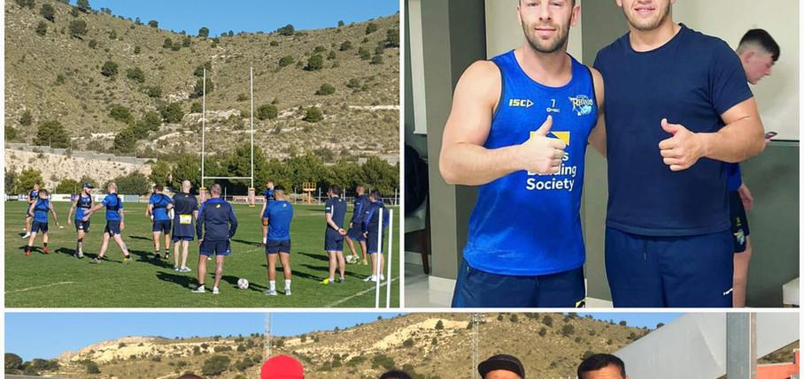 Leeds Rhinos Rugby League Training Camp La Vila Joiosa