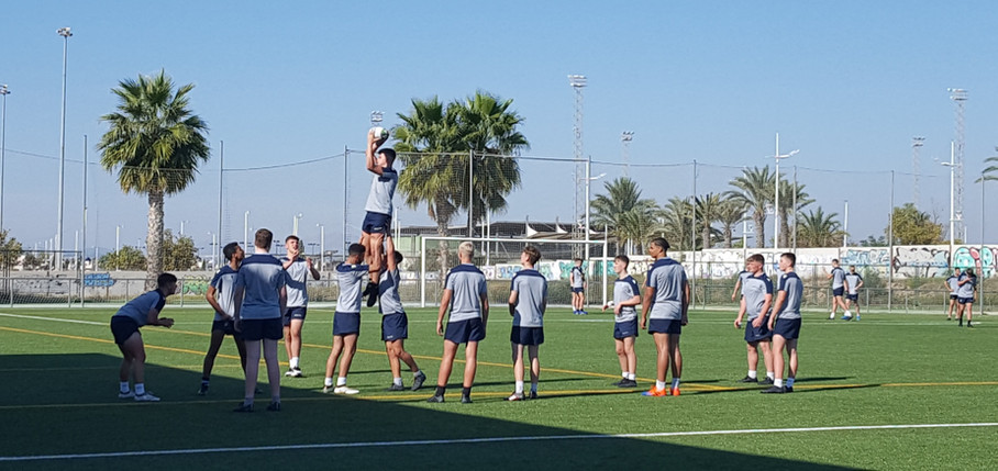 Cardiff Blues U16s Rugby tour 2019 Torrevieja