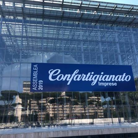 Assemblea Nazionale di Confartigianato imprese a Roma : presenti!