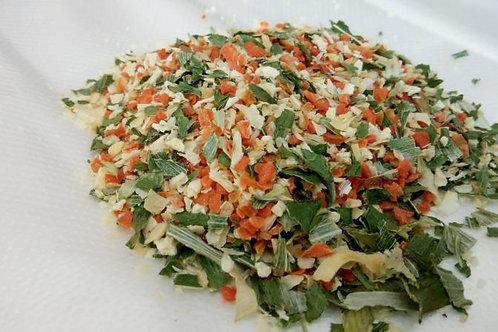 """""""Луговая"""" смесь сушеных овощей и трав, 100 гр"""