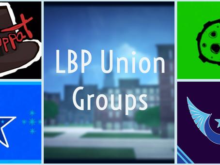 LBP Union Groups: Let's Get It Together!