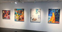 Installation shot, Feelers Group show