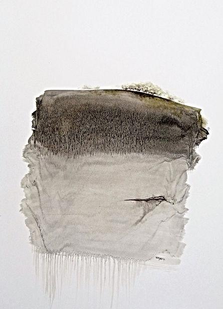 Danielle Waechter, paysage3,papier, 80x6