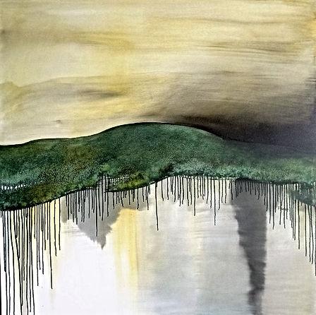 Danielle Waechter, Montagne-racines, 100