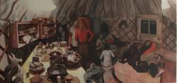 In Hen's Yurt