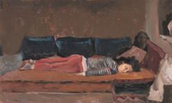 Orian sleeping