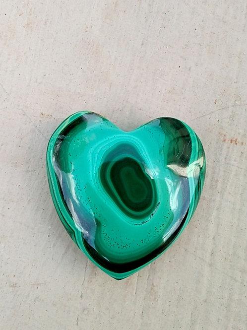 Malachite Heart
