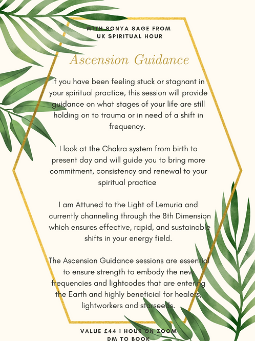 Ascension Guidance