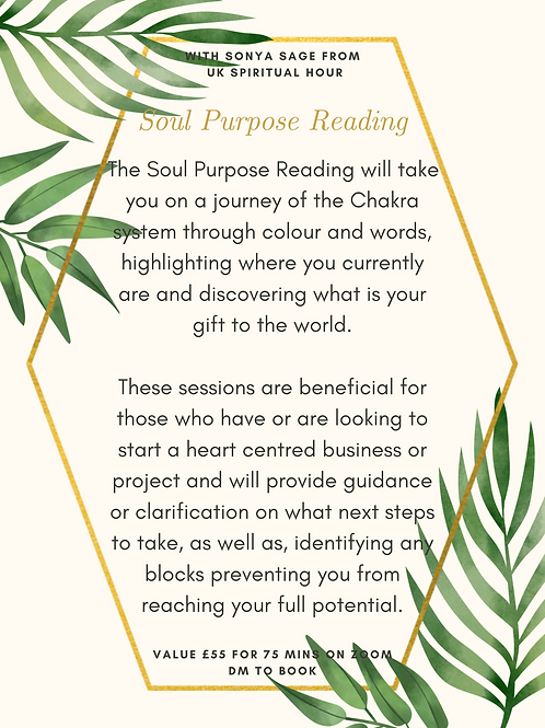 Soul Purpose Reading
