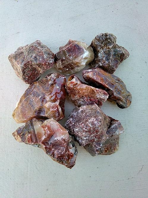 Rough Red Calcite
