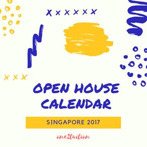 Secondary Schools' Open House Calendar 2017