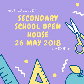 7 Schools having open houses on 26th May 2018