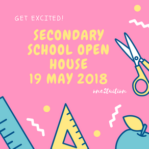 6 Schools Having Open Houses on 19 May 2018