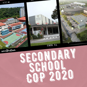 Secondary School Cut off Point (COP) 2020