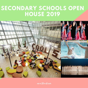 Secondary School Open House 2019: Come, Visit and Experience!