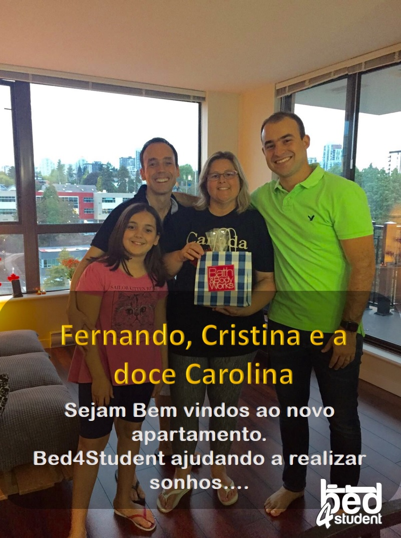 Fernando,Cristina e Carolina