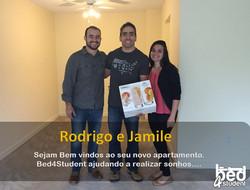 Rodrigo e Jamile