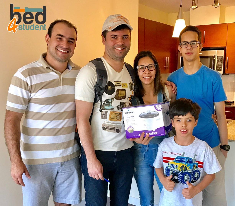 Thiago, Marcia, Eduardo e Guilherme