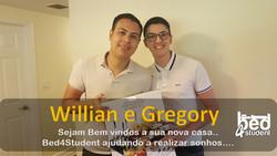 Willian e Gregory